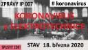 IP007# Jiří Vavrouch o opatření proti viru v KOPOSe Kolín