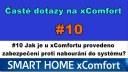 xC FAQ#10 Jak je u xComfortu provedeno zabezpečení proti nabourání do systému?